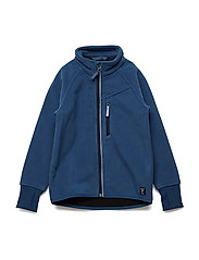 Jacket Windfleece Solid Preschool - ENSIGN BLUE