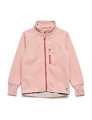 Jacket Windfleece Solid Preschool - MELLOW ROSE