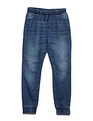 Trouser Woven School - BLUE DENIM