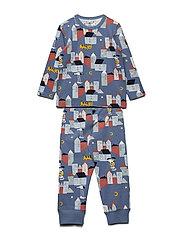 Pyjamas AOP - CORONET BLUE