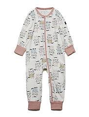 Pyjamas Overall AOP Baby - MELLOW ROSE