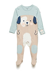 Overall Applique NB - GRAY MIST