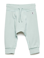Trousers Solid Newborn - GRAY MIST