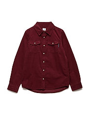 Shirt Solid Red School - TAWNY PORT