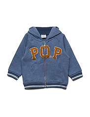 Sweatshirt Applique NB - CORONET BLUE