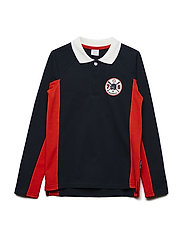 Top Long Sleeve Applique School - DARK SAPPHIRE