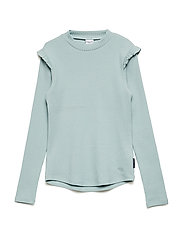 Top Turtle Neck Long Sleeve School - GRAY MIST