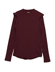 Top Turtle Neck Long Sleeve School - TAWNY PORT