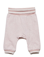 Trousers Solid Newborn - CLOUD PINK