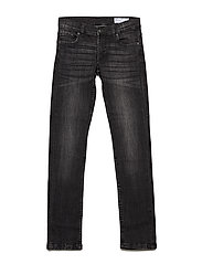 Jeans Slim School - BLACK DENIM