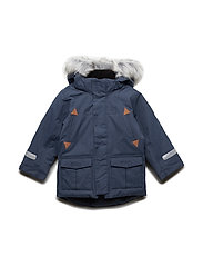 Jacket Padded w Hood PreSchool - DARK SAPPHIRE