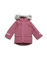 Jacket Padded w Hood PreSchool - ROSE WINE