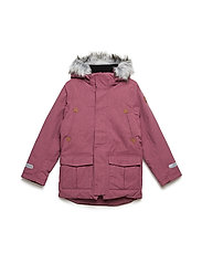 Jacket Padded w Hood School - ROSE WINE