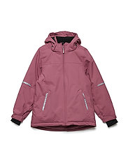 Jacket Padded Solid School - ROSE WINE