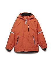 Jacket Padded Solid School - BURNT OCHRE
