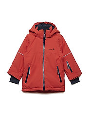 Jacket Padded Solid PreSchool - MOLTEN LAVA