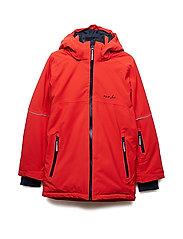 Jacket Padded Solid School - MOLTEN LAVA