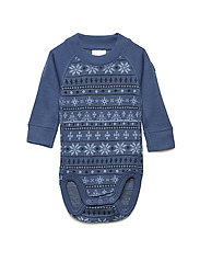 Body Wool Jaquard - ENSIGN BLUE