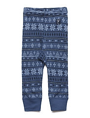 Trousers Wool Jaquard - ENSIGN BLUE
