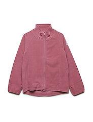 Zip Up Fleece Solid - ROSE WINE