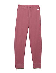 Long Johns Fleece Solid School - ROSE WINE