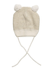 Cap Knitted Solid Baby - EGRET