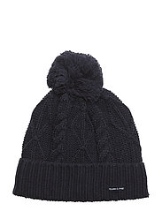 Cap Knitted Solid School - DARK SAPPHIRE