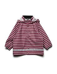 Rain Jacket Stripe Baby - ROSE WINE