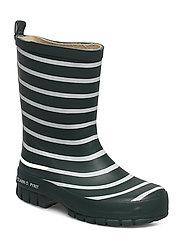 Polarn O. Pyret Rain Boots PO.P Stripe Preschool