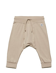 Trousers Solid Newborn - SIMPLY TAUPE