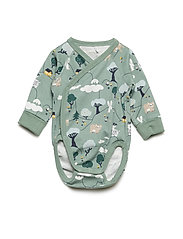 Body AOP long sleeve Newborn - GREEN BAY