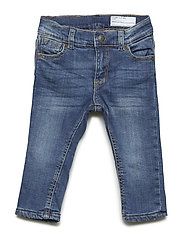 Jeans with lining Baby - BLUE DENIM