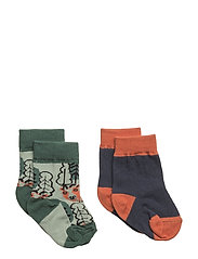 2-Pack Sock Jaquard Baby - MOOD INDIGO