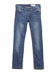 Jeans with lining School - BLUE DENIM