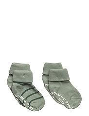 Sock 2-Pack Striped Turnup