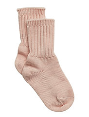 Thick Wool Sock Baby - PINK MELANGE