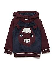 Sweatshirt Hood Preschool - MOOD INDIGO