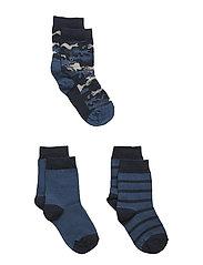 3-Pack Sock Jaquard