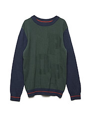 Sweater Knitted School - GARDEN TOPIARY