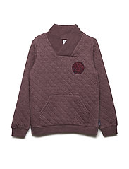 Sweater Quilted School - TAWNY PORT