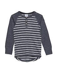 Sweater Wool Striped PreSchool - GREYMELANGE