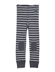 Long Johns Wool Striped Newborn