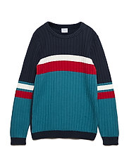 Sweater Knitted School