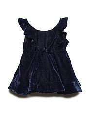 Dress solid  Baby - DARK SAPPHIRE
