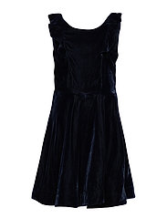 Dress solid School - DARK SAPPHIRE