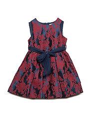 Dress Jaquard Preschool - DARK SAPPHIRE