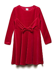 Dress solid w detail Preschool