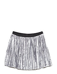 Skirt Pleated School - SILVER