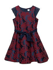Dress Jaquard School - DARK SAPPHIRE