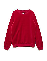 Velour Long Sleeve School - CHILI PEPPER